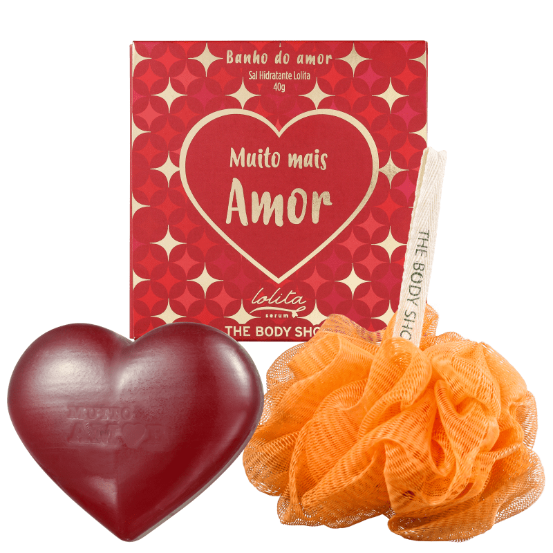 Kit The Body Shop Amor (3 Produtos)