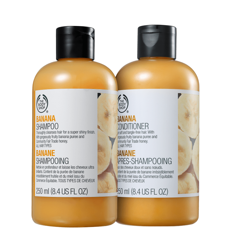Kit The Body Shop Banana Duo (2 Produtos)