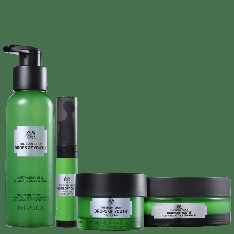 Kit The Body Shop Drops Of Youth de Hidratação (4 Produtos)