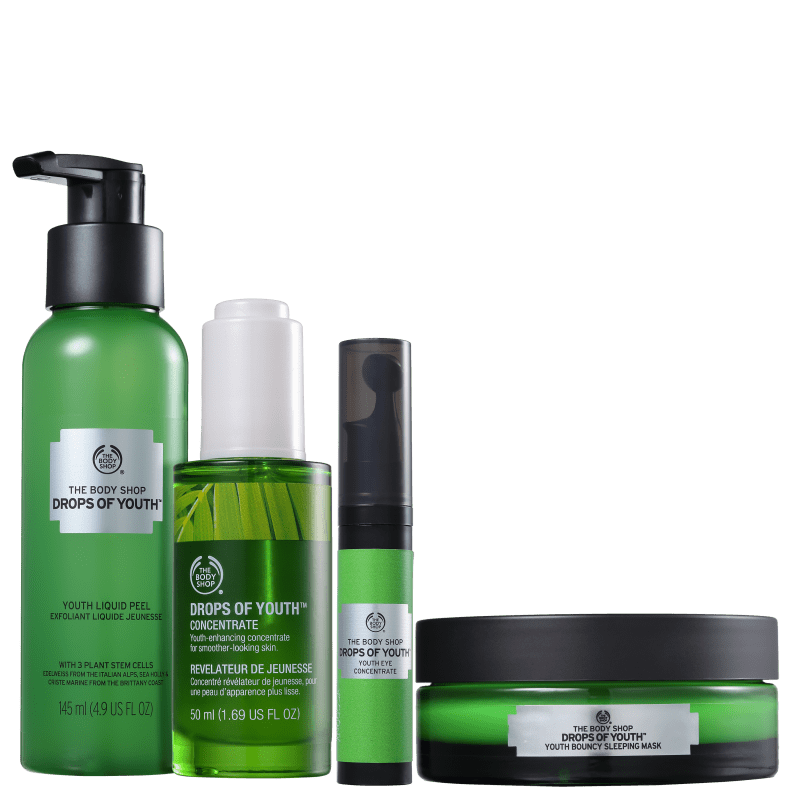 Kit The Body Shop Drops Of Youth de Tratamento (4 Produtos)