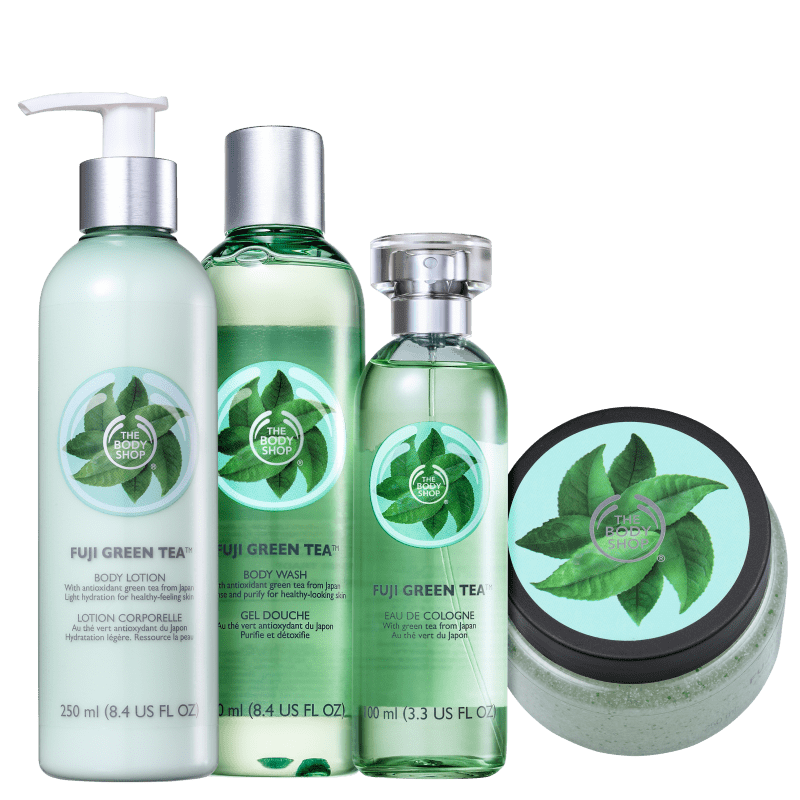 Kit The Body Shop Fuji Green Tea Hidratante (4 Produtos)