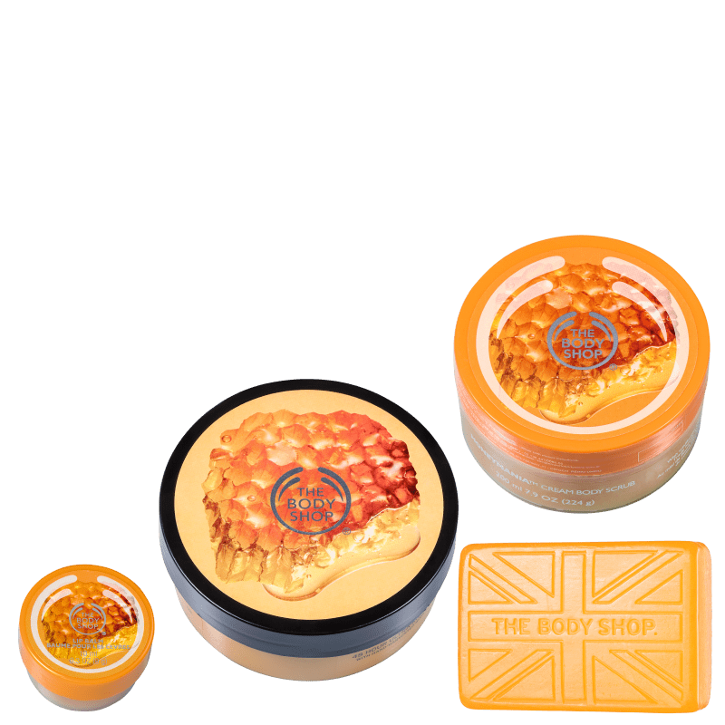 Kit The Body Shop Honeymania Hidratação (3 Produtos)