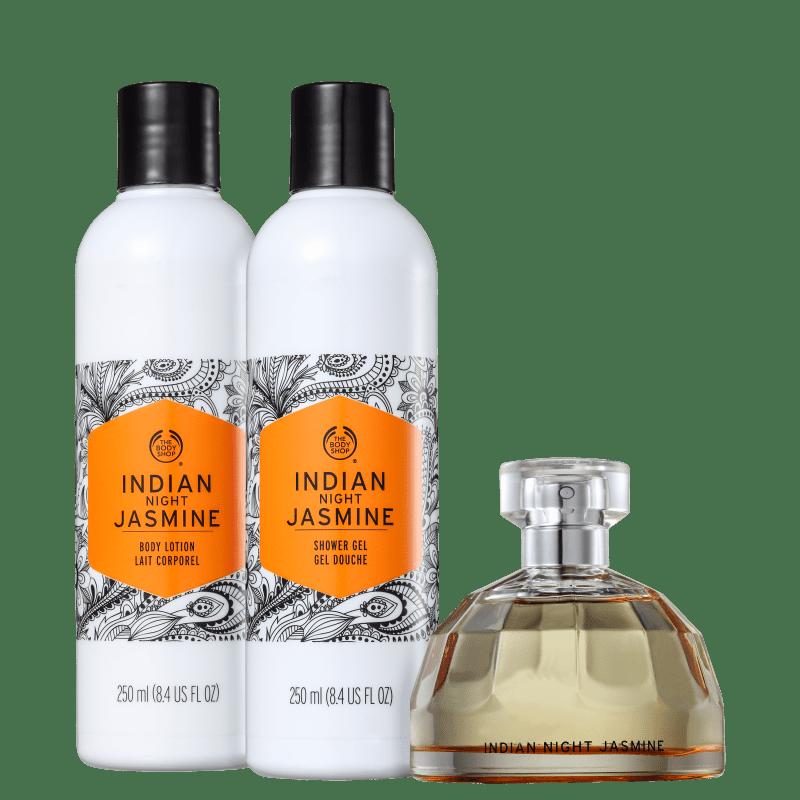 Kit The Body Shop Indian Night Jasmine (3 Produtos)
