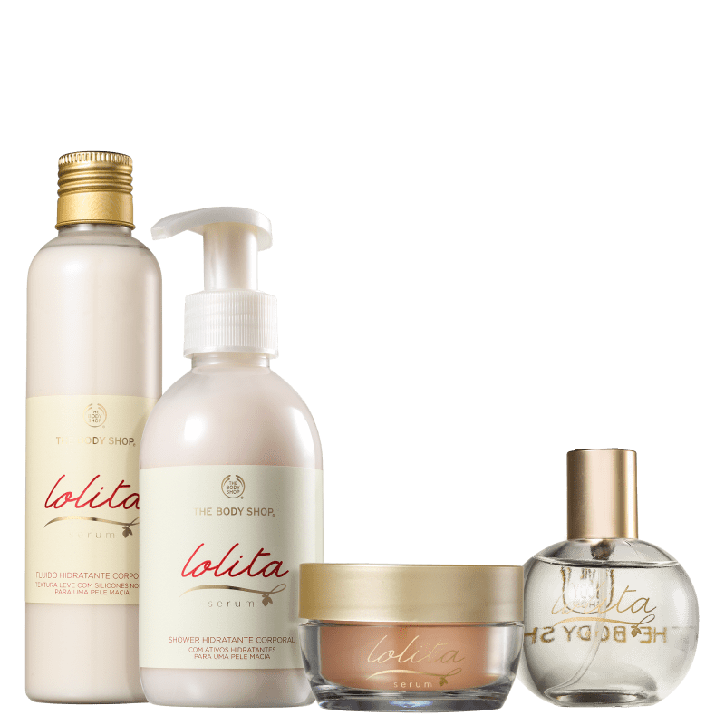 Kit The Body Shop Lolita Serum (4 Produtos)