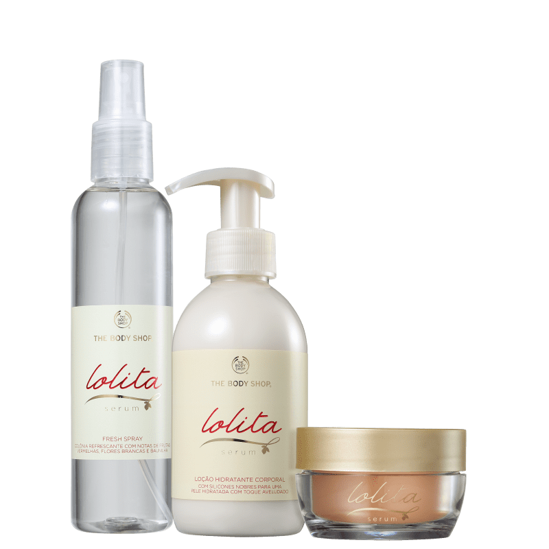 Kit The Body Shop Lolita Serum Básico (3 Produtos)