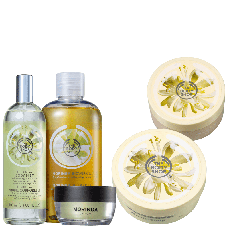 Kit The Body Shop Moringa (5 produtos)