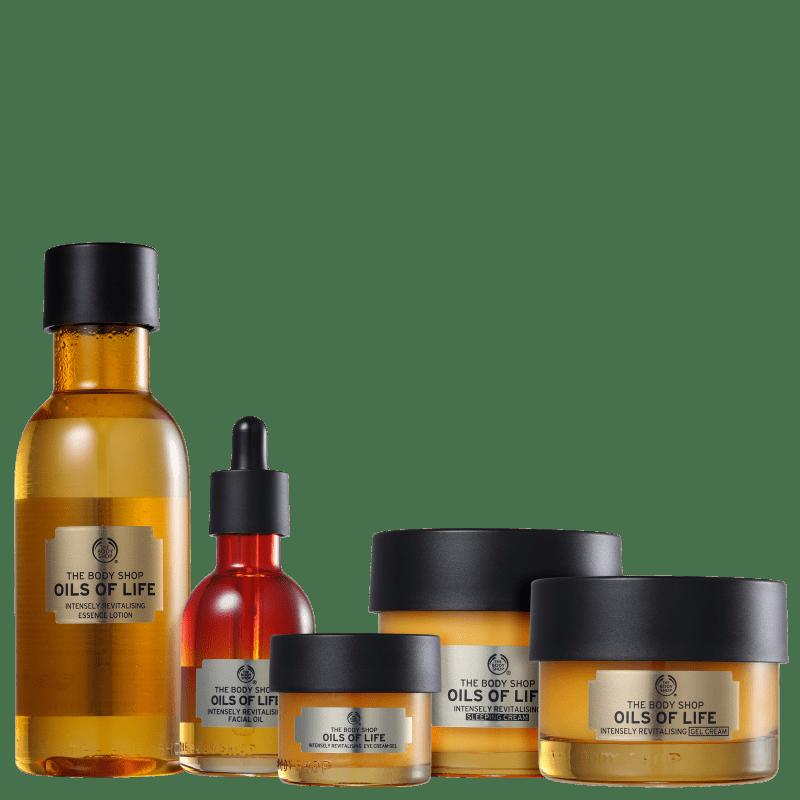 Kit The Body Shop Oils of Life Completo (5 Produtos)