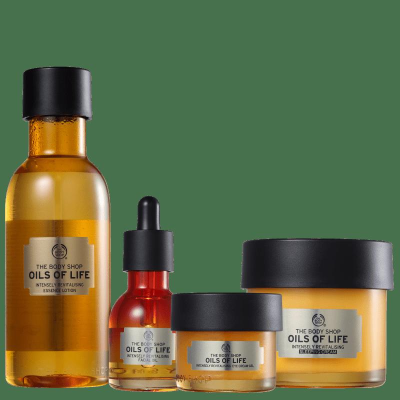 Kit The Body Shop Oils of Life Essenciais (4 Produtos)