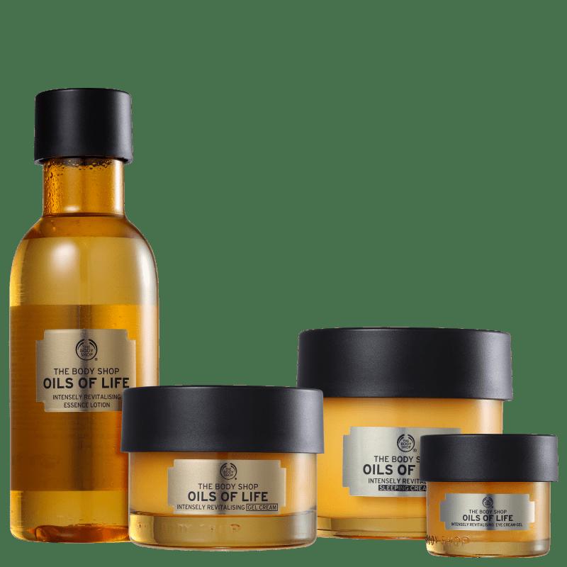 Kit The Body Shop Oils of Life Hidratação (4 Produtos)