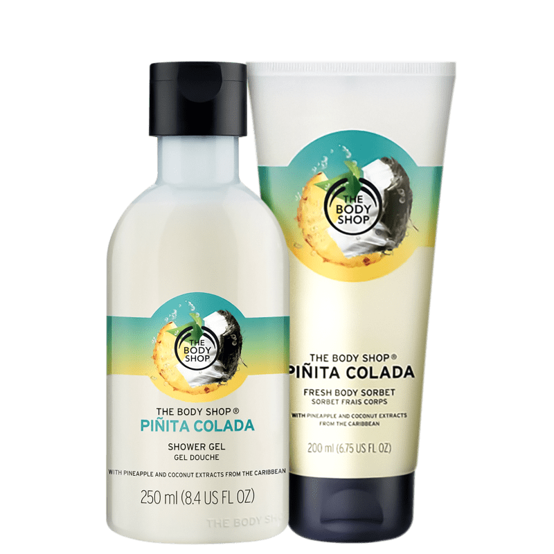 Kit The Body Shop Piñita Colada Refrescante (2 Produtos)