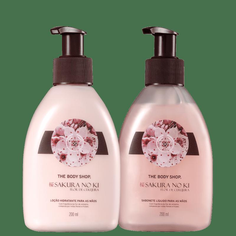 Kit The Body Shop Sakura No Ki (2 Produtos)