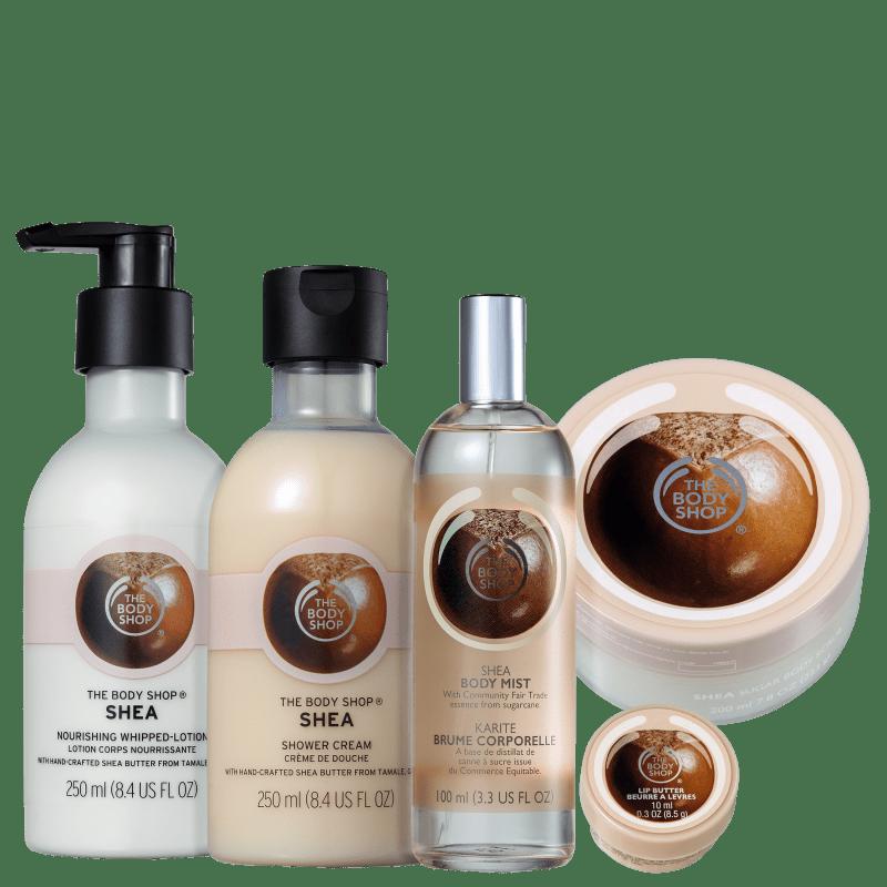 Kit The Body Shop Shea Hidratação Intensa (5 Produtos)