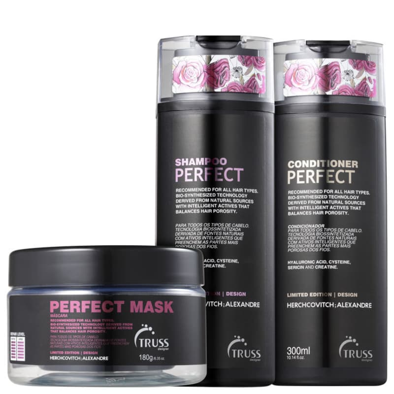 Kit Truss Alexandre Herchcovitch Perfect Trio (3 Produtos)