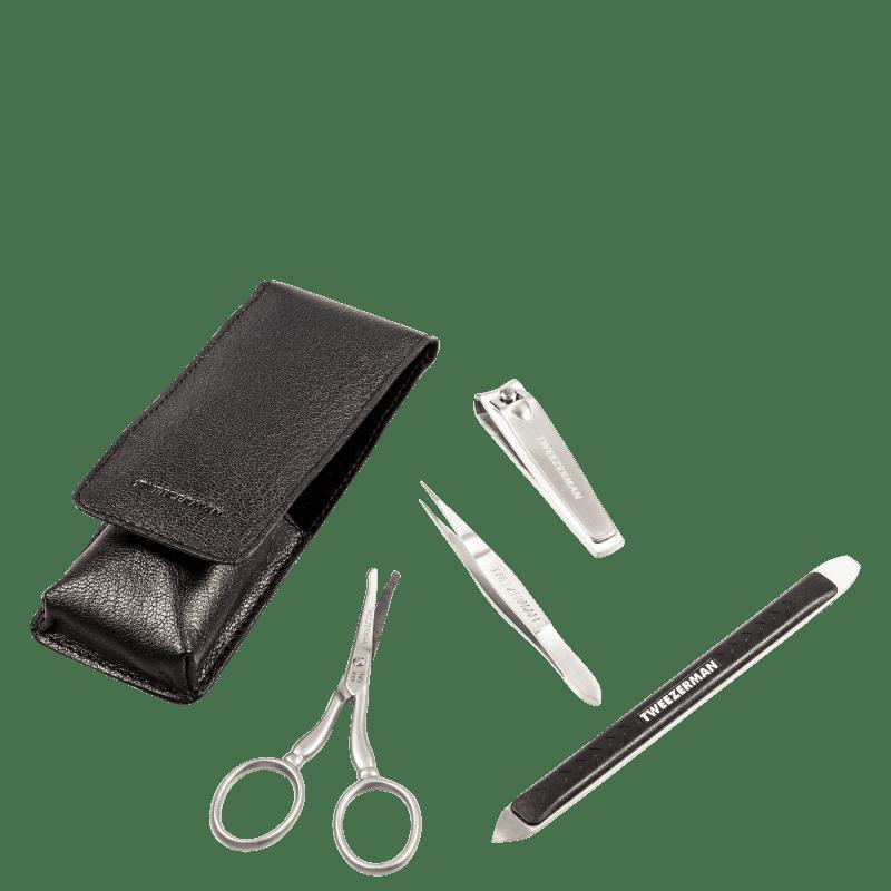 Kit Tweezerman GEAR Essencial (4 produtos)