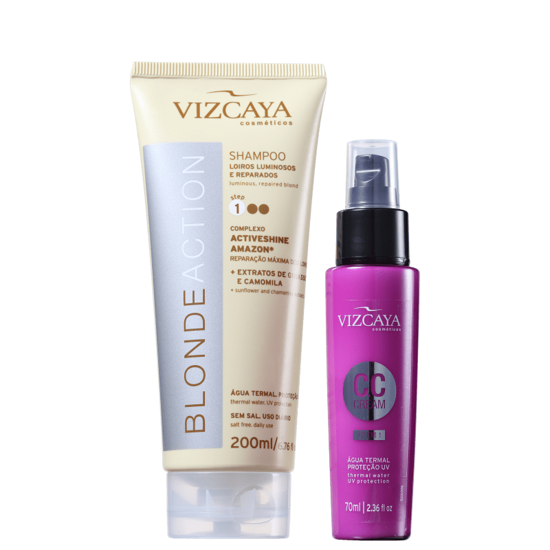 Kit Vizcaya Blonde Action CC Cream (2 Produtos)