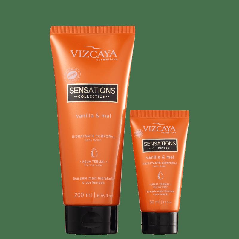 Kit Vizcaya Sensations Vanilla & Mel (2 Produtos)