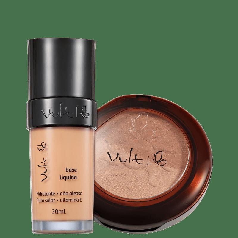 Kit Vult Make Up 02 Rosa Duo Soleil (2 produtos)
