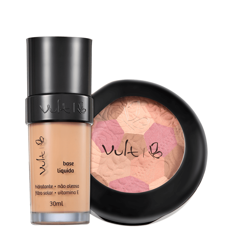 Kit Vult Make Up 02 Rosa Mosaico (2 produtos)