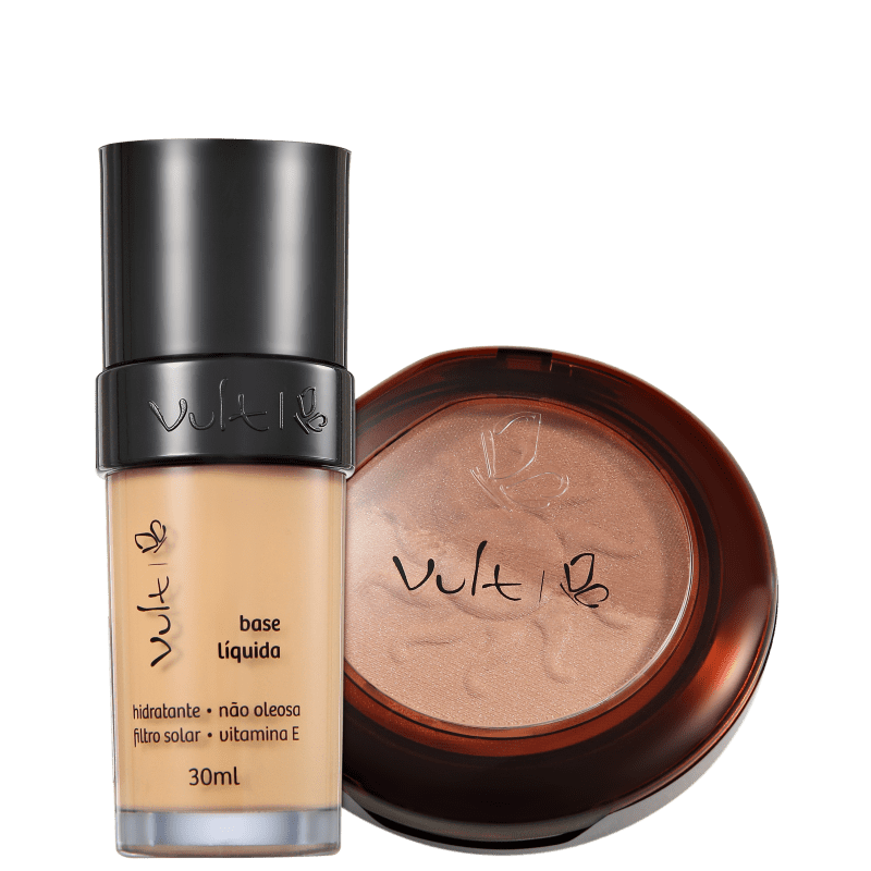 Kit Vult Make Up 03 Bege Duo Soleil (2 produtos)