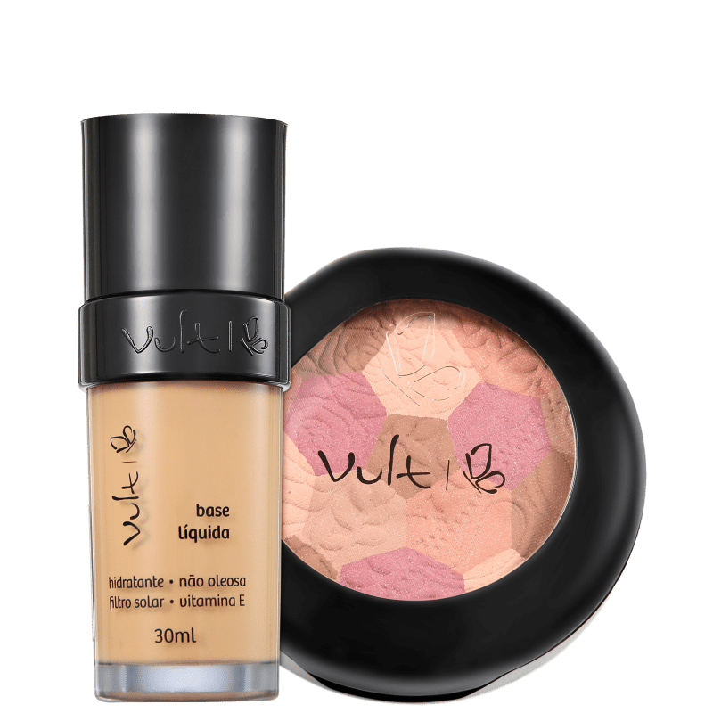 Kit Vult Make Up 03 Bege Mosaico (2 produtos)