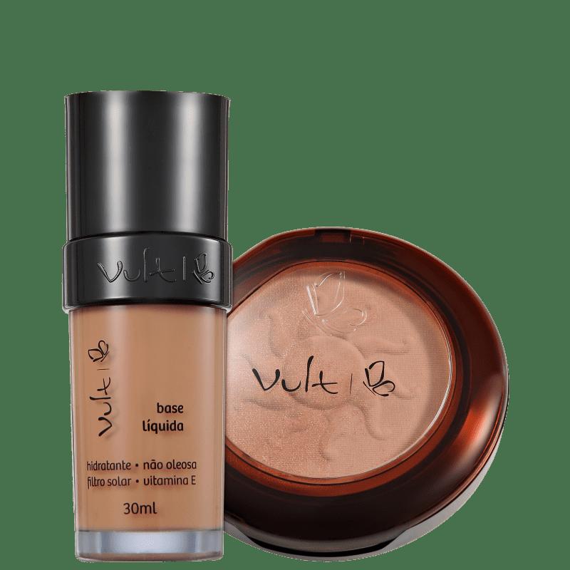 Kit Vult Make Up 06 Marrom Duo Soleil (2 produtos)