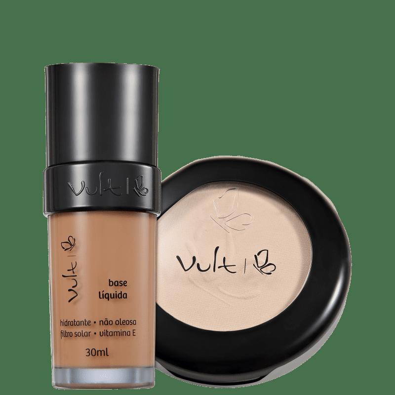 Kit Vult Make Up 06 Marrom Translúcido Duo (2 produtos)