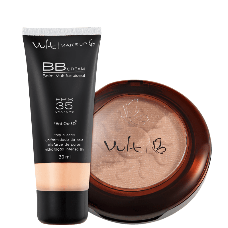 Kit Vult Make Up Balm Duo 01 (2 produtos)