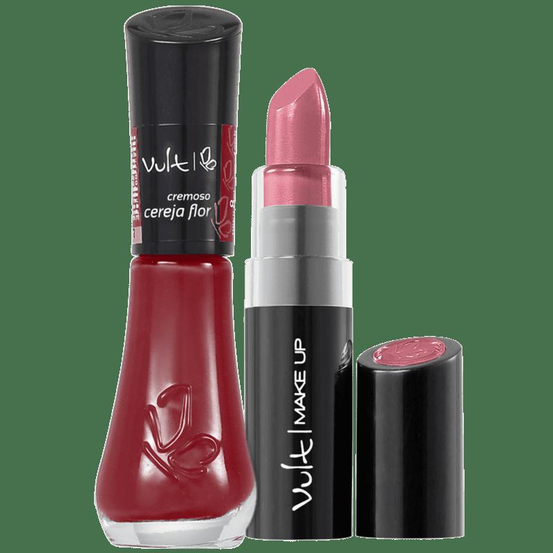 Kit Vult Make Up Cereja Flor Duo (2 produtos)