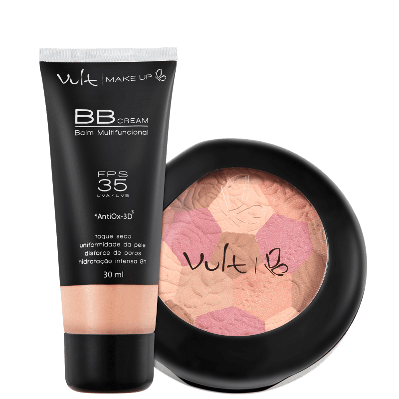 Kit Vult Make Up Mosaico BB Cream (2 produtos)