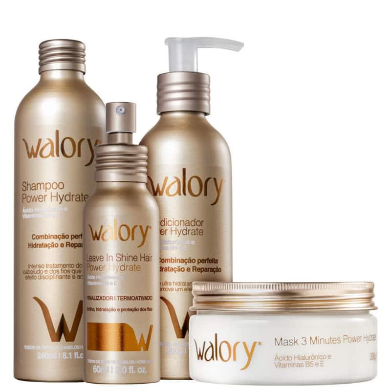 Kit Walory Hydrate Completo (4 Produtos)