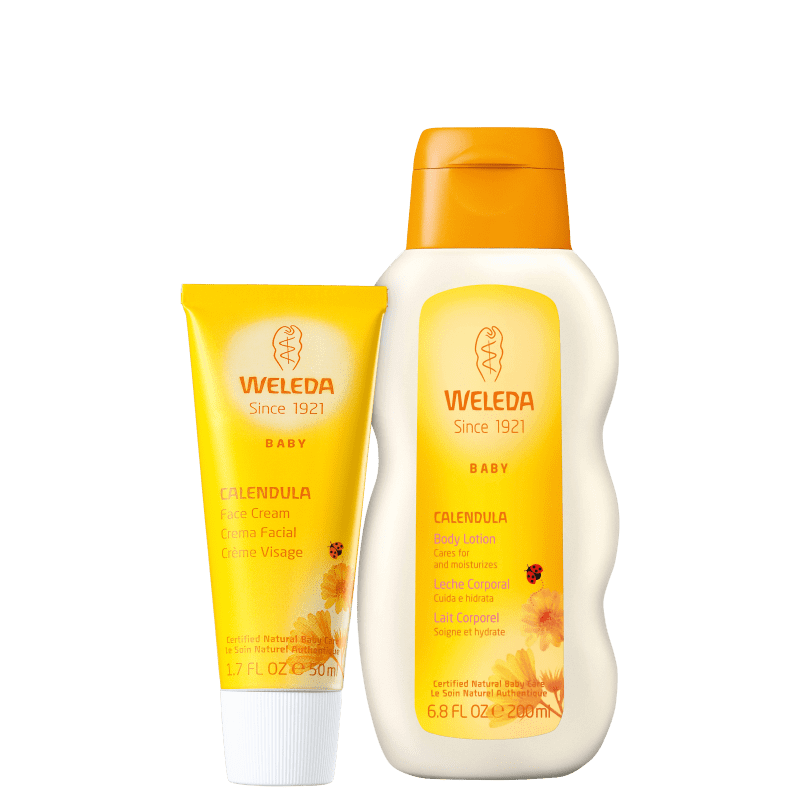 Kit Weleda Baby Calêndula Hidratação (2 Produtos)