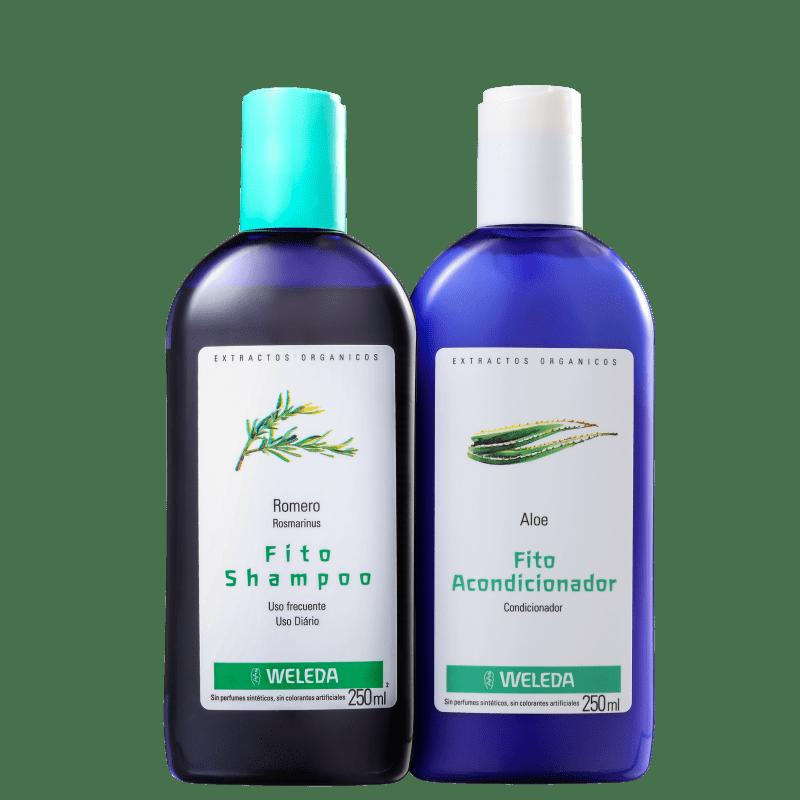 Kit Weleda Fitos Rosmarinus Aloe Duo (2 Produtos)