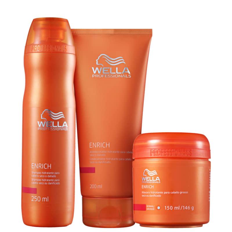 f756828f7 Kit Wella Professionals Enrich | Beleza na Web