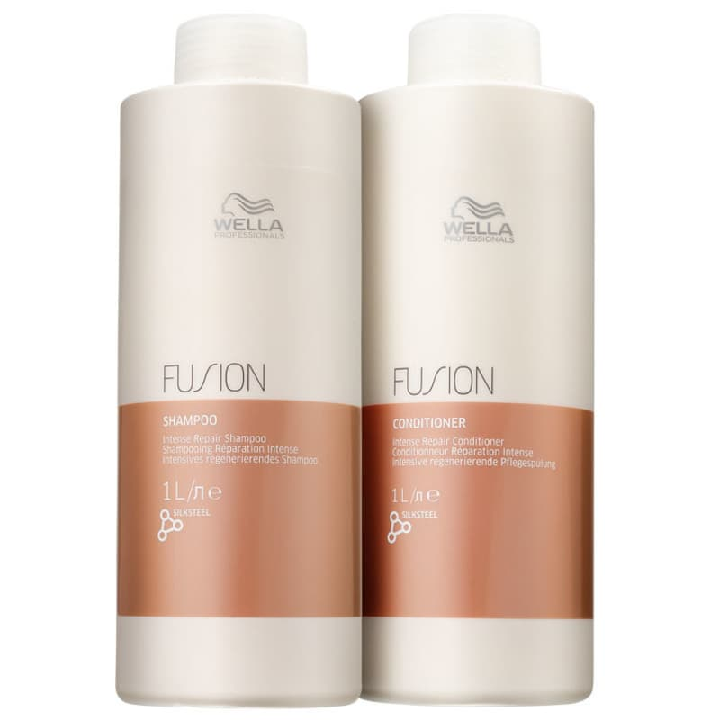 Kit Wella Professionals Fusion Salon Duo (2 Produtos)