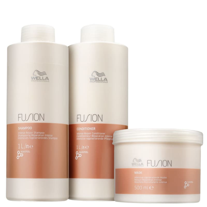 Kit Wella Professionals Fusion Salon Trio (3 Produtos)