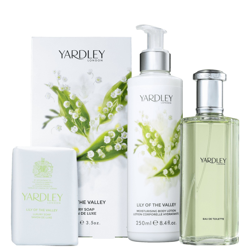 Kit Yardley Lily of The Valley (3 Produtos)