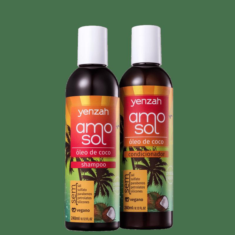 Kit Yenzah Amo Sol Duo (2 Produtos)