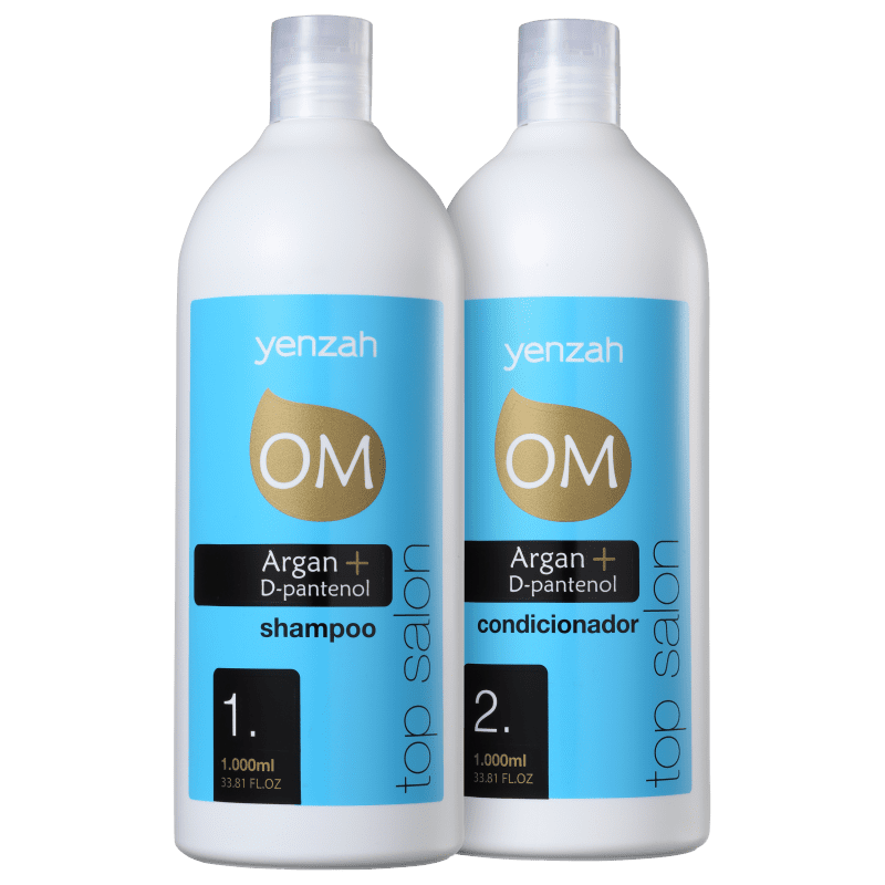 Kit Yenzah OM Argan Top Salon (2 Produtos)