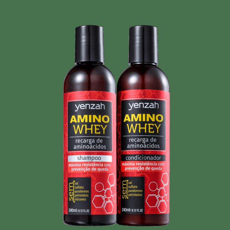Kit Yenzah Power Whey Amino (2 Produtos)