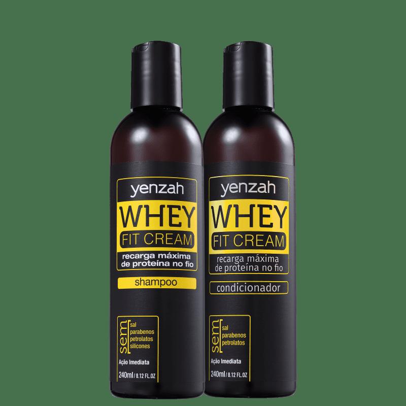 Kit Yenzah Power Whey Fit Duo (2 Produtos)