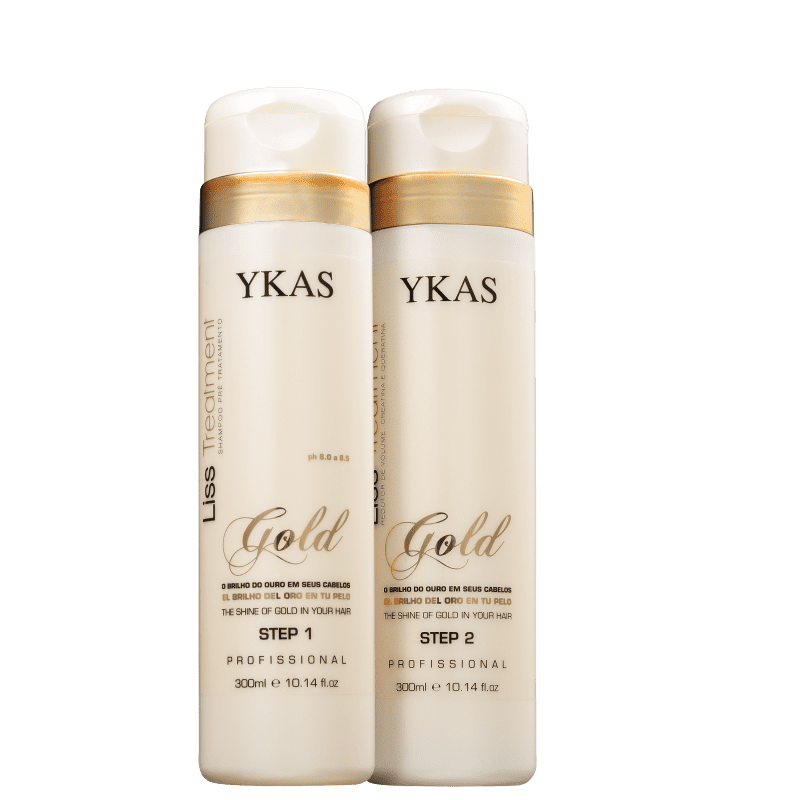 Kit YKAS Liss Treatment Gold Duo (2 Produtos)