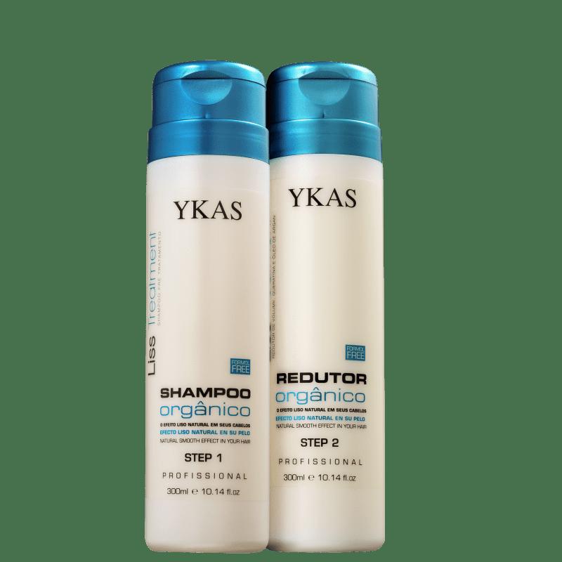 Kit YKAS Liss Treatment Orgânico Duo (2 Produtos)