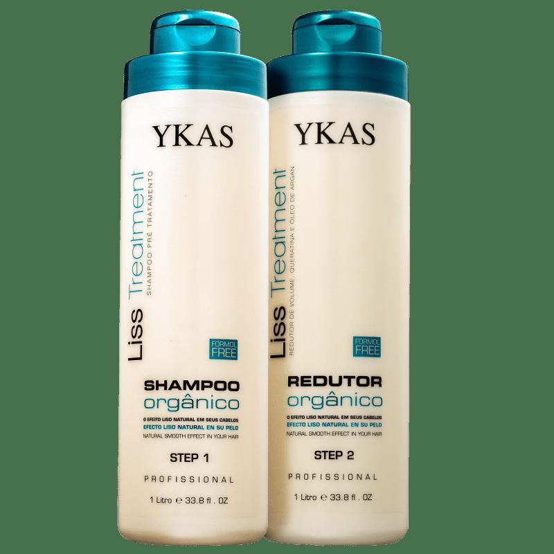 Kit YKAS Liss Treatment Orgânico Duo Pro (2 Produtos)