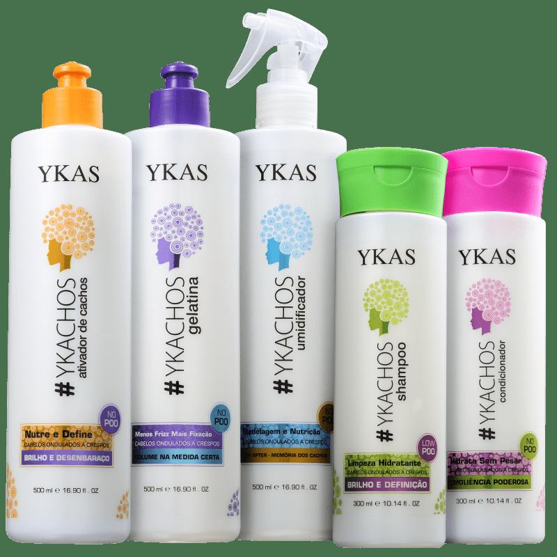 Kit YKAS #Ykachos Full (5 Produtos)