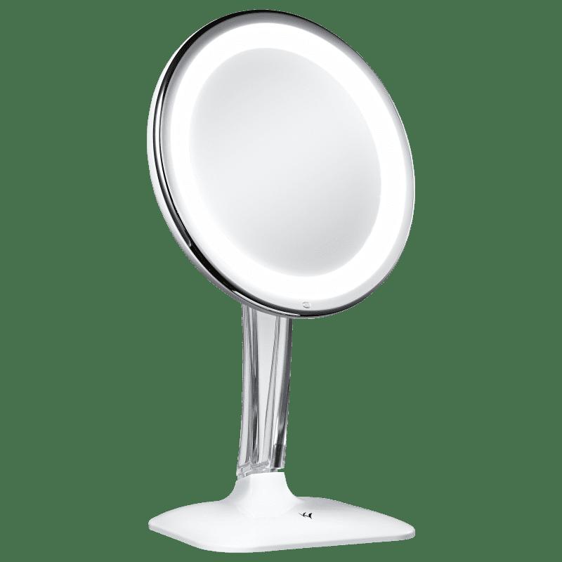 Klass Vough Branco Rotação 360º 5X - Espelho de Aumento