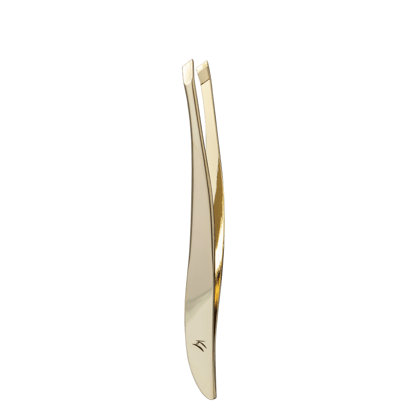 Klass Vough TW-1077G Dourada - Pinça Chanfrada