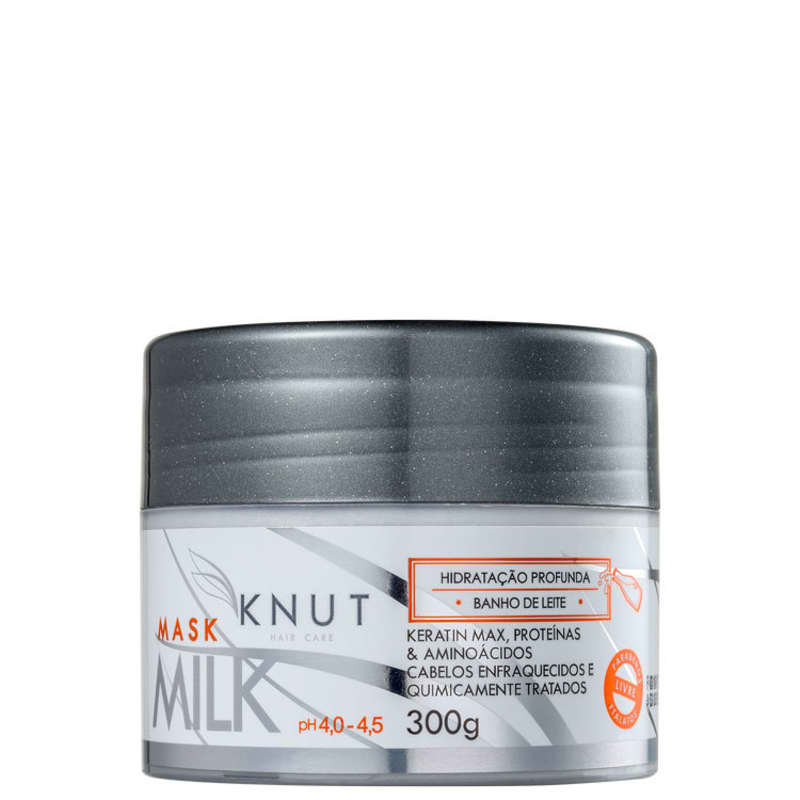 Knut Milk - Máscara Capilar 300g