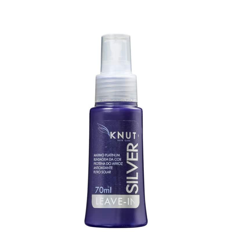 Knut Silver - Spray Leave-in Matizador 70ml