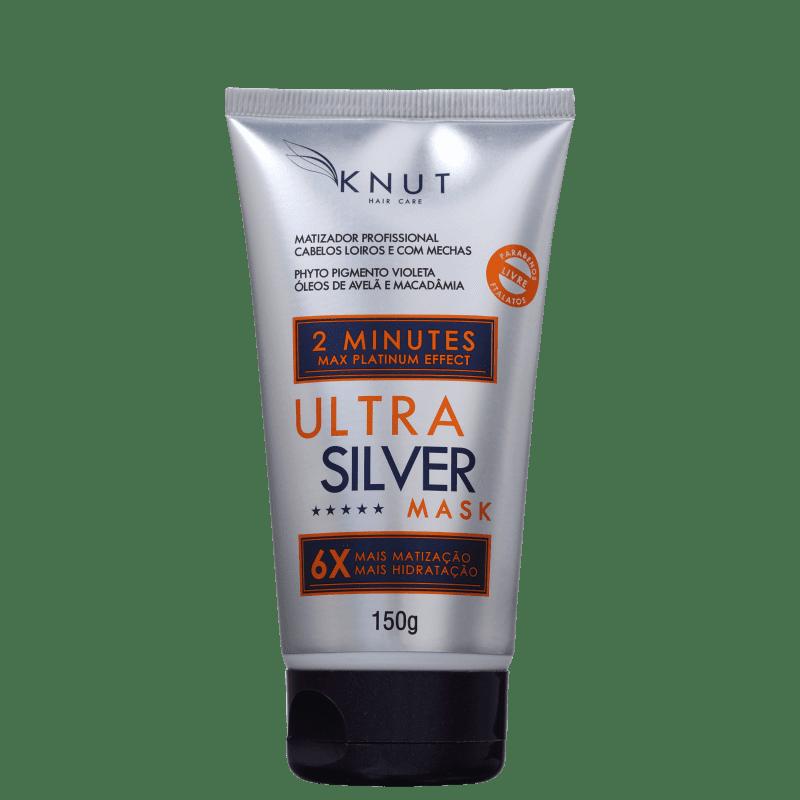 Knut Ultra Silver - Máscara Matizadora 150g