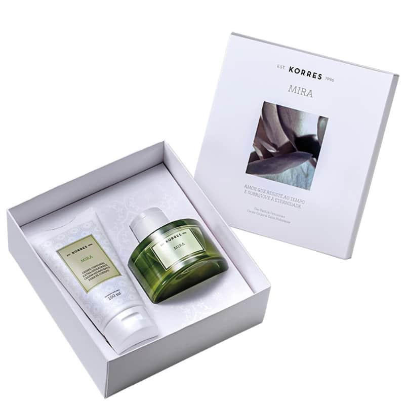 Conjunto Mira Korres Feminino - Deo Parfum 75ml + Creme Corporal 150ml